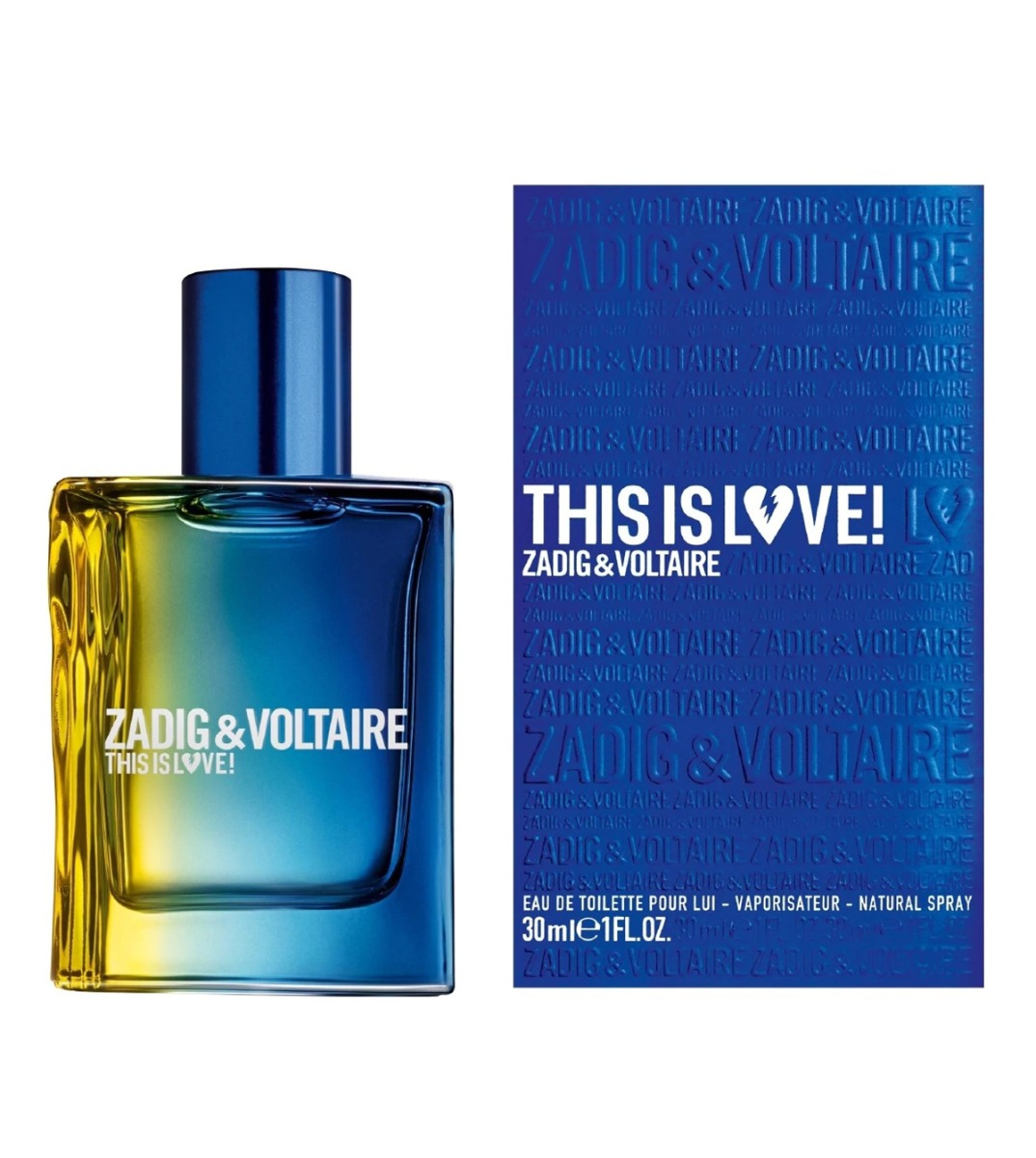 ZADIG&VOLTAIRE THIS IS LOVE FOR HIM ПАРФЮМ ЗА МЪЖЕ