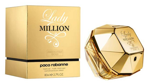 PACO RABANNE  LADY MILLION ABSOLUTELY GOLD ПАРФЮМ ЗА ЖЕНИ