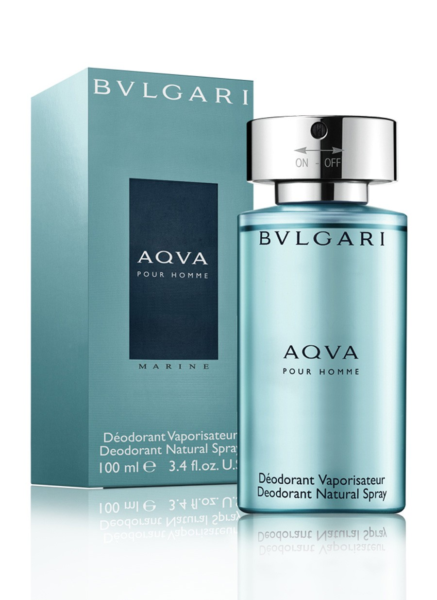 BULGARI AQUA MARINE  MAN DEO SPRAY