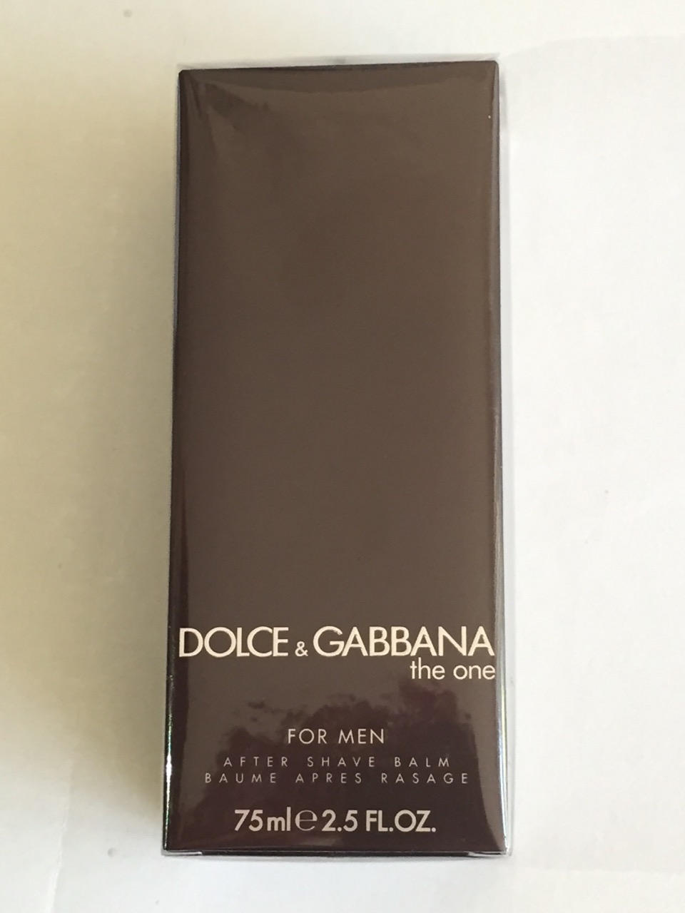 D&G THE ONE MAN AFTER SHAVE  BALM