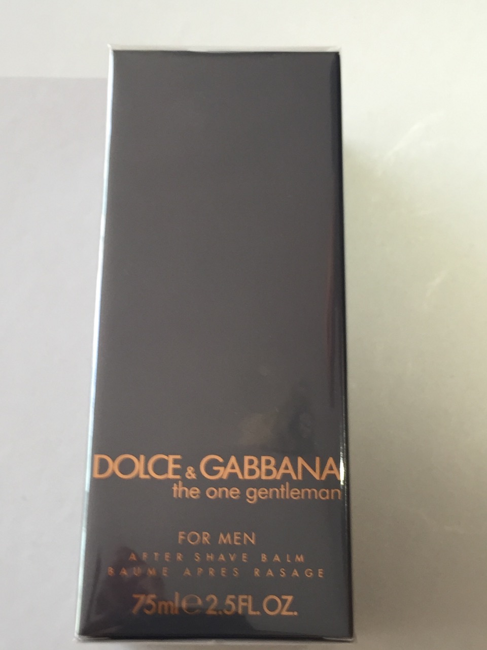 D&G THE ONE MAN  GENTLEMAN AFTER SHAVE  BALM