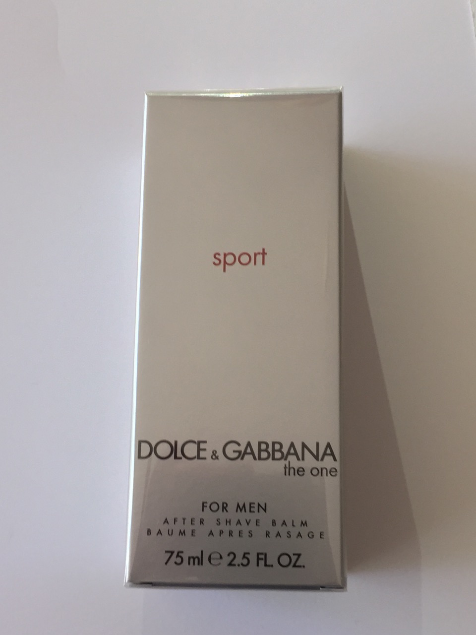 D&G THE ONE MAN SPORT AFTER SHAVE