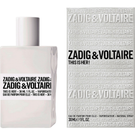 ZADIG&VOLTAIRE THIS IS HER ПАРФЮМ ЗА ЖЕНИ
