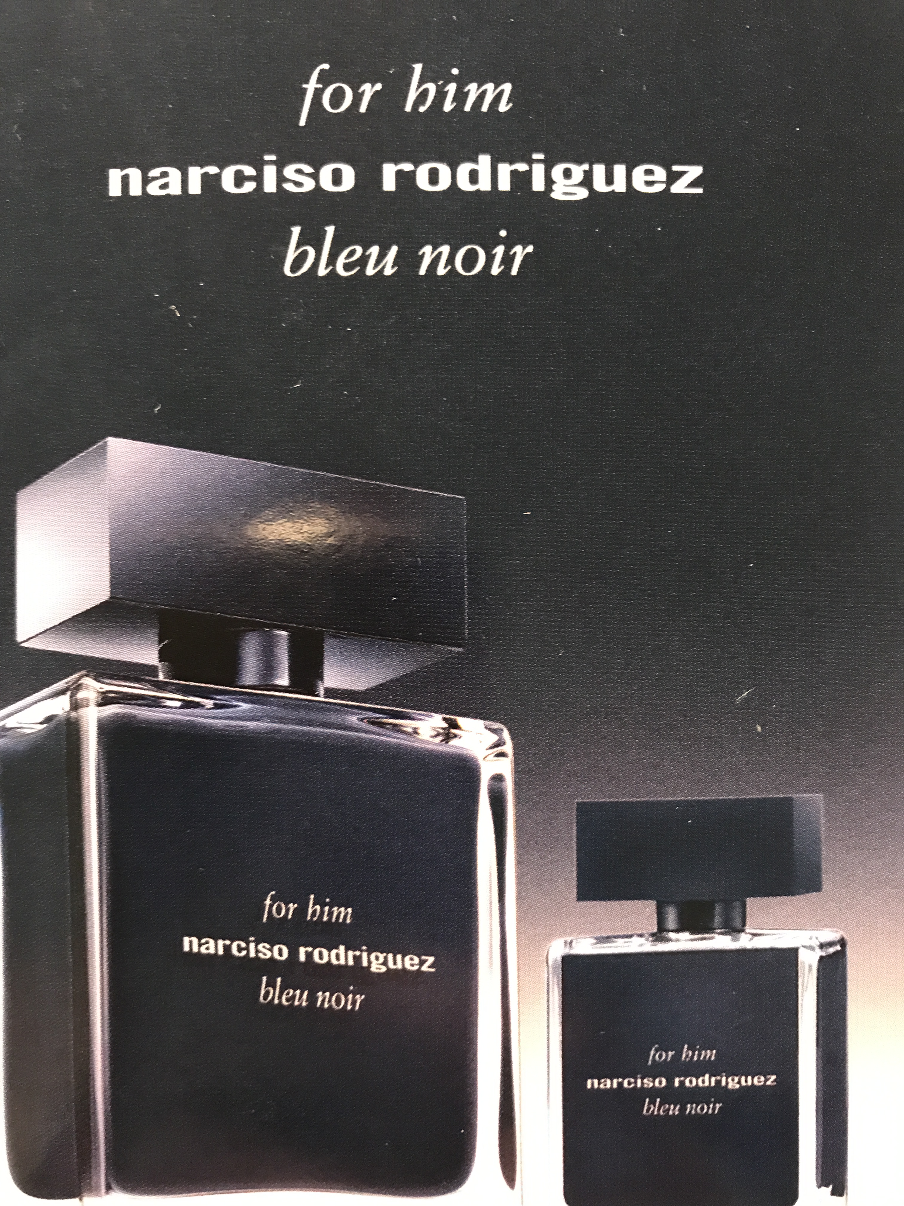 NARCISO RODRIGUES FOR HIM BLUE NOIR КОМПЛЕКТ