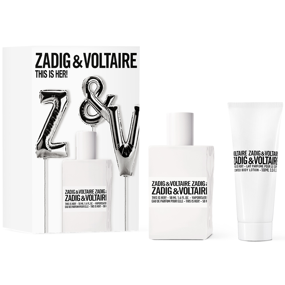 ZADIG&VOLTAIRE THIS IS HER КОМПЛЕКТ ПАРФЮМ ЗА ЖЕНИ