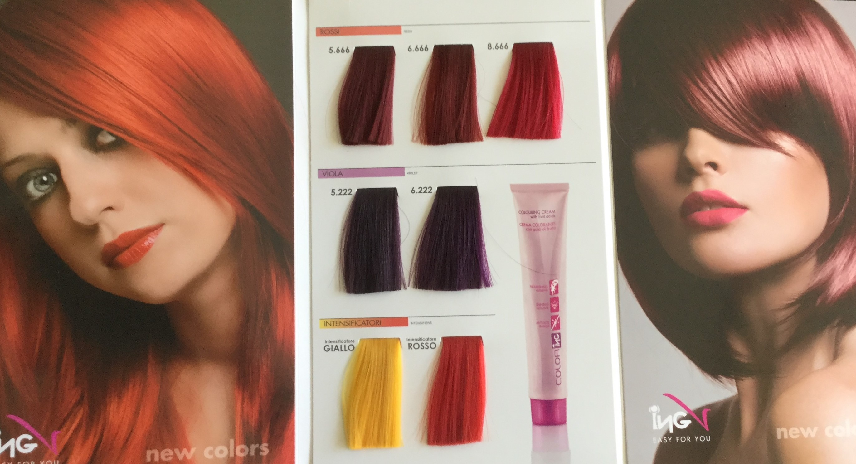 ING COLOR БОЯ ЗА КОСА NEW COLORS